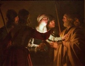 Gerrit Van Honthorst - The Denial of St Peter