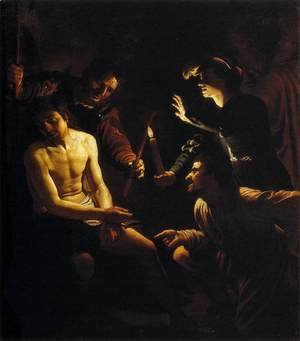Gerrit Van Honthorst - The Mocking of Christ