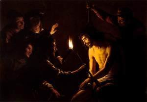 Gerrit Van Honthorst - The Mocking of Christ 2