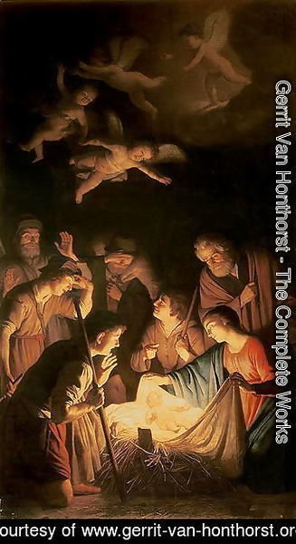 Adoration of the Shepherds 1617