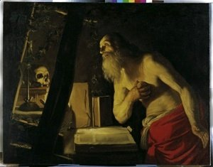 Gerrit Van Honthorst - follower St Jerome