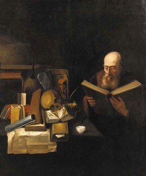 A philosopher in his study