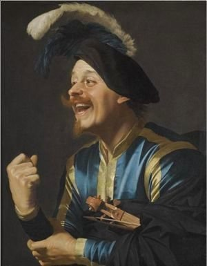 A Laughing Violinist