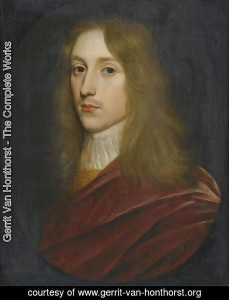 Portrait Of A Gentleman, Said To Be Prince Rupert Of The Rhine