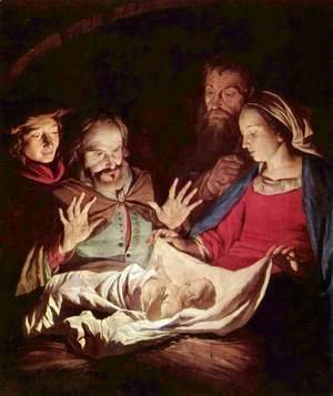 Gerrit Van Honthorst - Adoration of the Shepherds 2