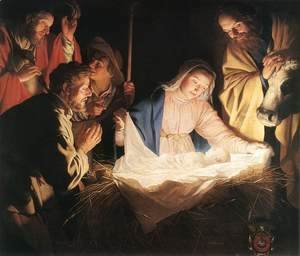 Gerrit Van Honthorst - Adoration of the Shepherds 1622