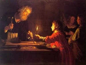 Gerrit Van Honthorst - Childhood of Christ  1620