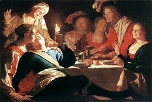 Gerrit Van Honthorst - The Prodigal Son 1622