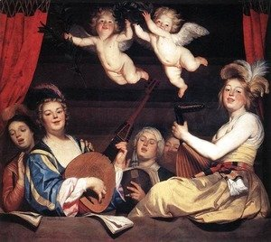 Concert on a Balcony 1624