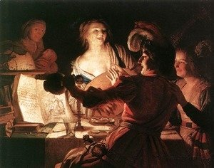 Gerrit Van Honthorst - The Prodigal Son 1623